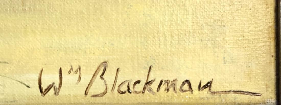 WILLIAM BLACKMAN OIL ON CANVAS LANDSCAPE - 3