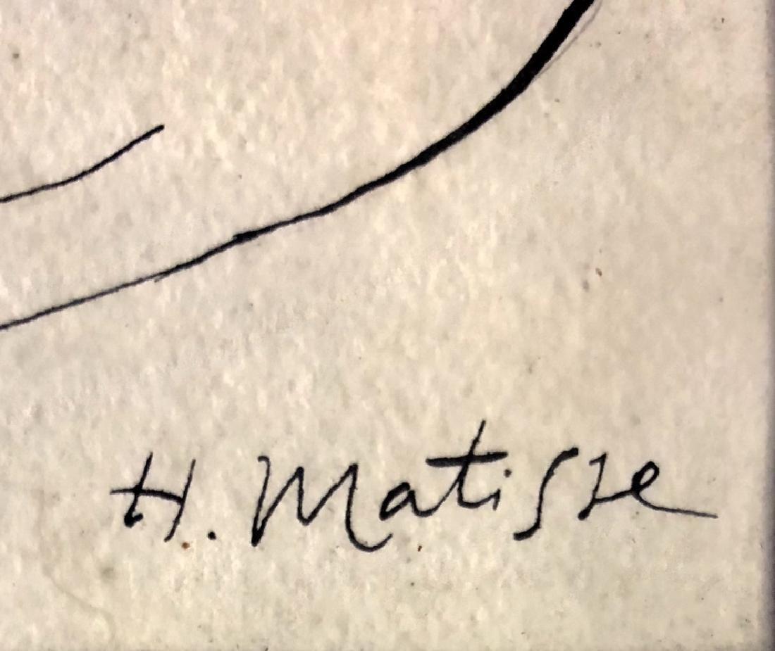 HENRI MATISSE FIGURATIVE INK ON PAPER V$68,000 - 3