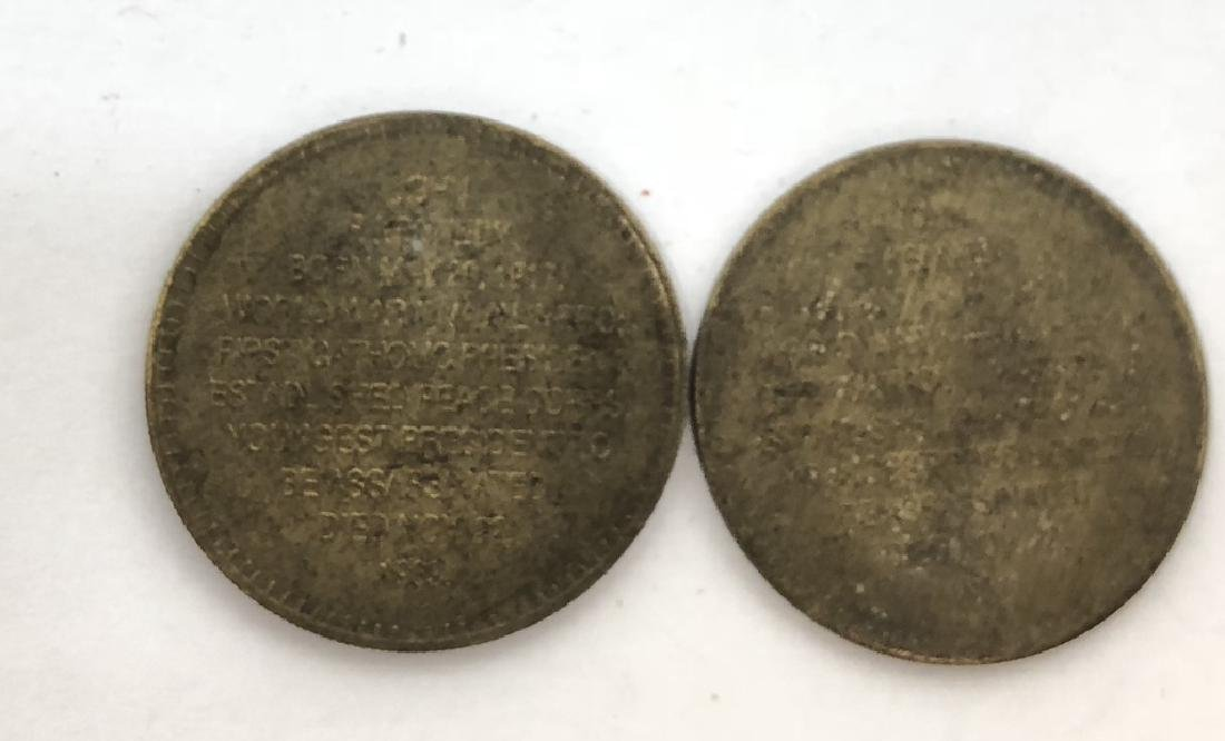 LOT OF 2 JOHN F. KENNEDY 1961-1963 COINS - 2