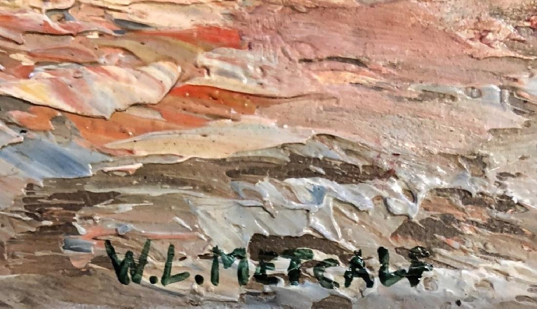 VINTAGE WILLARD METCALF OIL ON CANVAS V$2,000 - 3