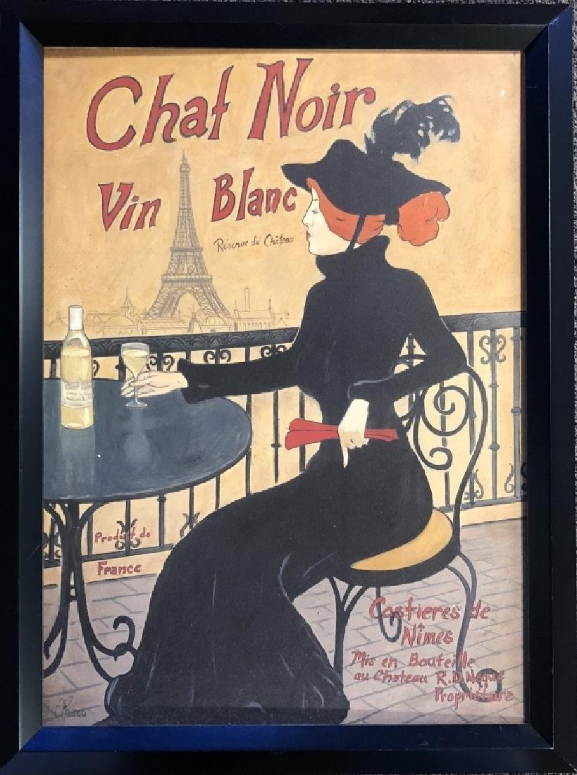 ROUSSEAU FRENCH POSTER ON BOARD
