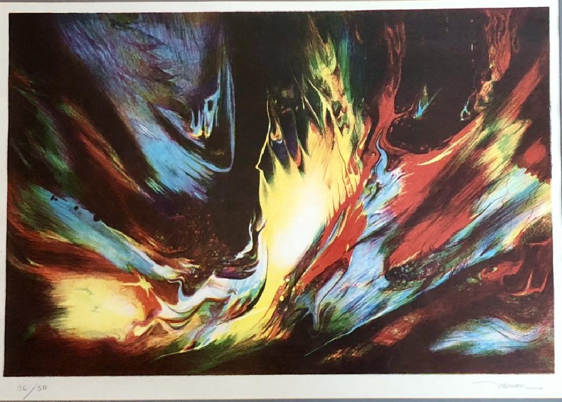 SIGNED LEONARDO NIERMAN LITHOGRAPH V$1,400