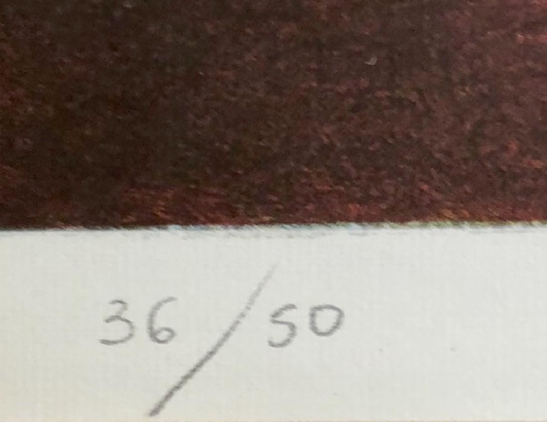 SIGNED LEONARDO NIERMAN LITHOGRAPH V$1,400 - 3