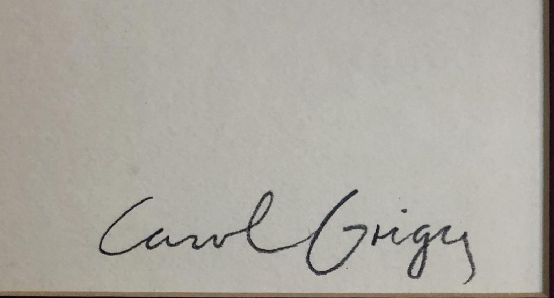 CAROL GRIGGS FINE ART LITHOGRAPH - 3