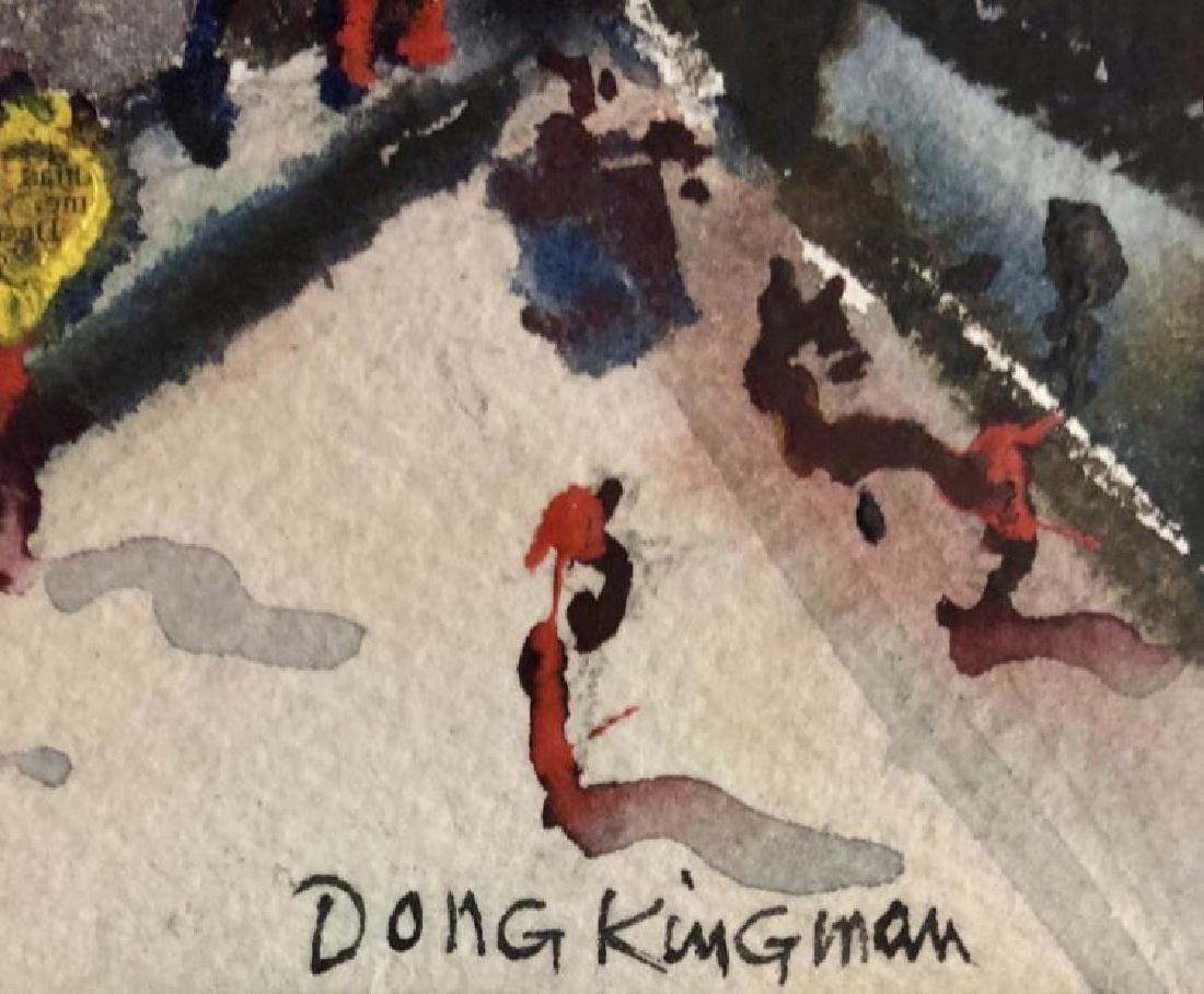 DONG KINGMAN CITY WATERCOLOR V$3,000 - 2