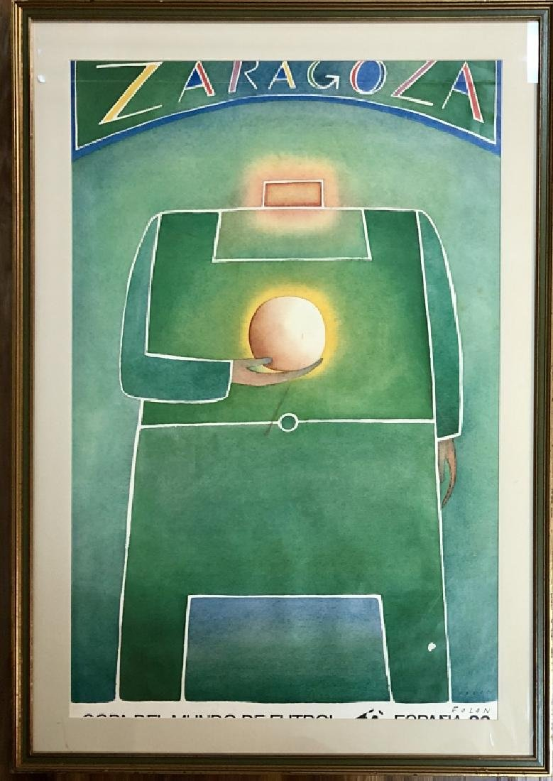 1982 JEAN MICHEL FOLON SIGNED POSTER V$1,200