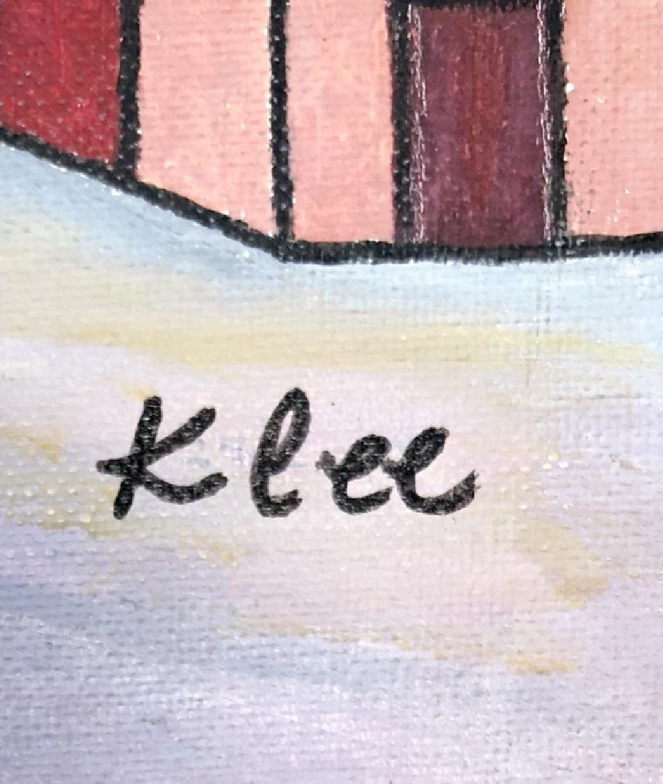 PAUL KLEE OIL ON BOARD PAINTING V$3,000 - 2