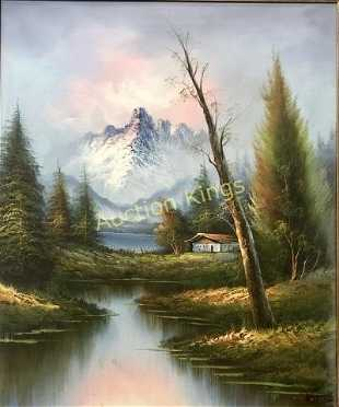 37bd494febd9e Bob Ross Prices - 12 Auction Price Results