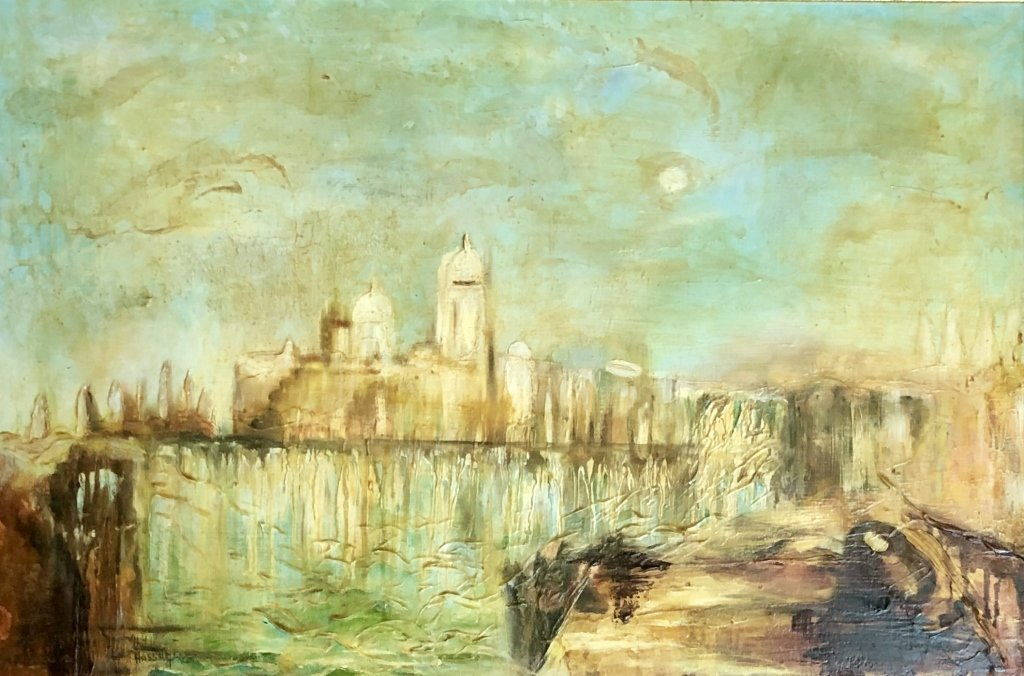 CHILDE HASSAM IMPERSSIONISTIC OIL/CANVAS V$100,000 - 3