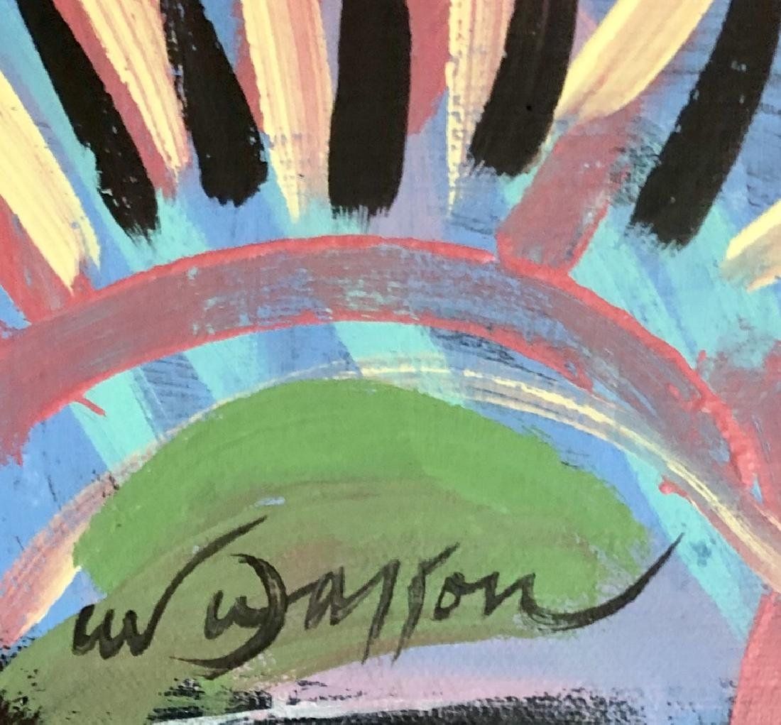 ANDRE MASSON ABSTRACT ACRYLIC ON CANVAS V$7,500 - 2
