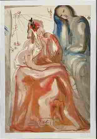 SALVADOR DALI #15/450 FINE ART LITHOGRAPH V$8,000