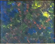 JOAN MITCHELL ABSTRACT OIL ON PAPER V$8,000