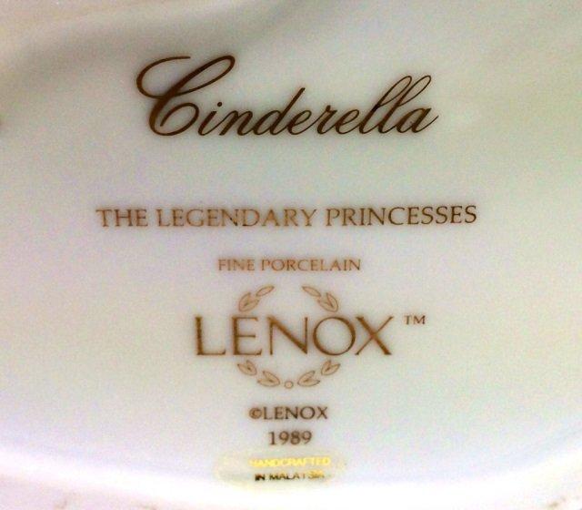 LENOX CINDERELLA LEGENDARY PRINCESS - 2