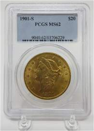 1901 Gold Liberty Coin