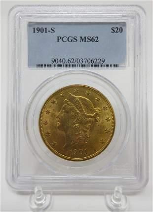 901 Gold Liberty Coin