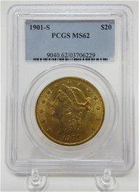 1901 Gold Liberty Coin