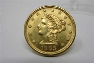 1905 Liberty Head Gold Piece