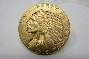 1915 Indian Head Gold