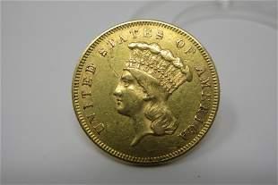 1855 Indian Princess Gold