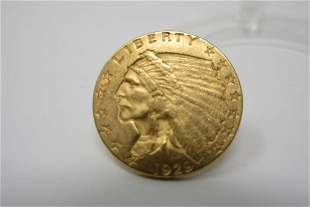1929 Indian Head Gold