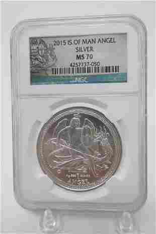 2015 Isle of Man Silver Coin