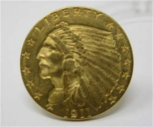 1911 Indian Head Gold