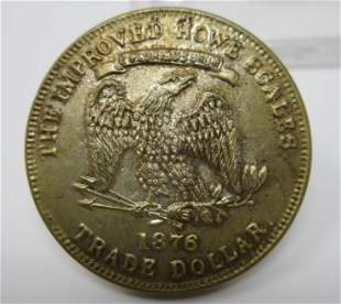 1876 The Improved Howe Scales Centennial