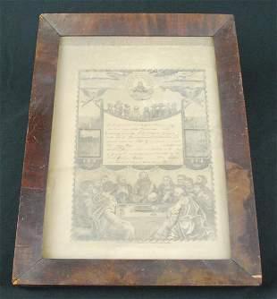 1863 PA Birth Certificate