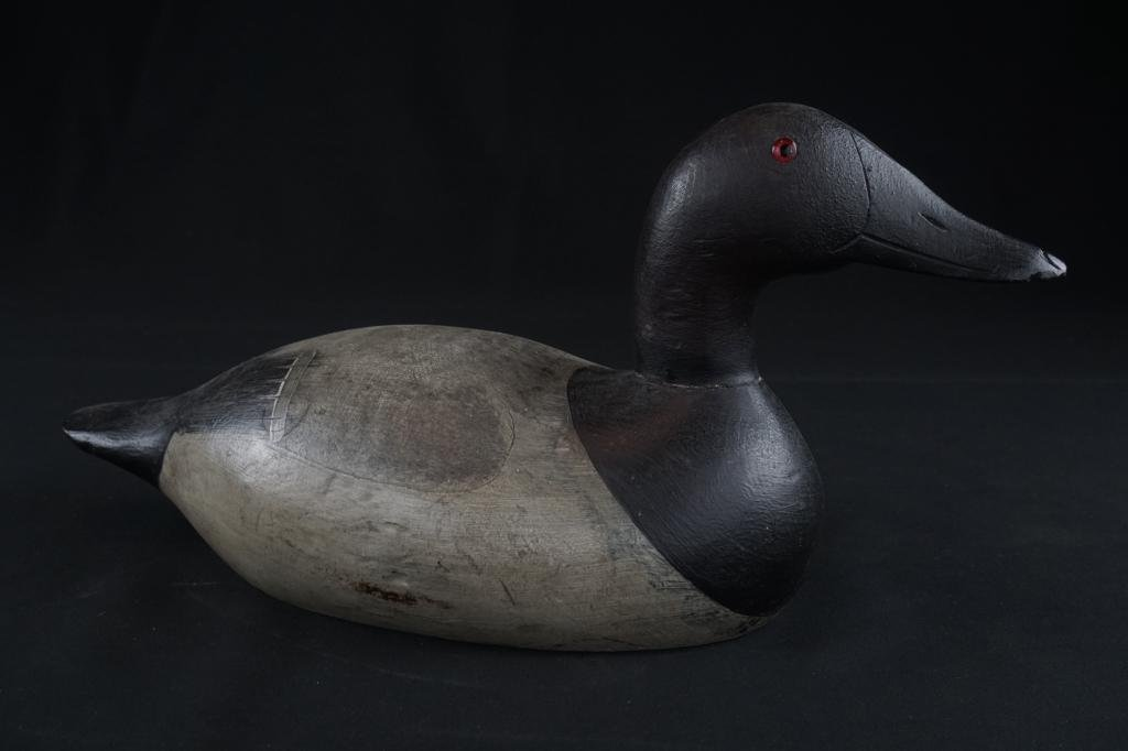 1900s Male Carved Duck Decoy Early 1900s paint
