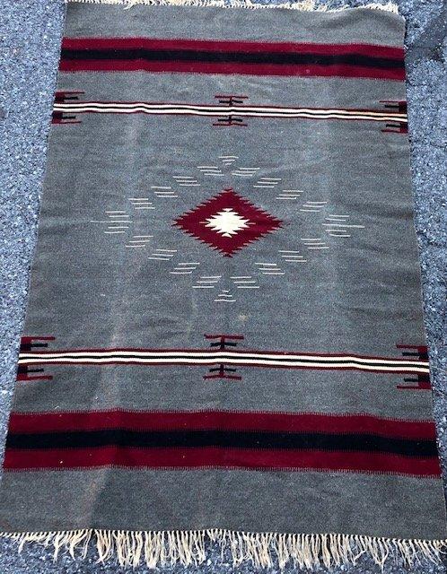 Native American Blanket Vintage Native American wool