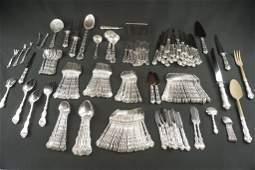 Gorham 247 Pc. Sterling Silver Strasbourg Set