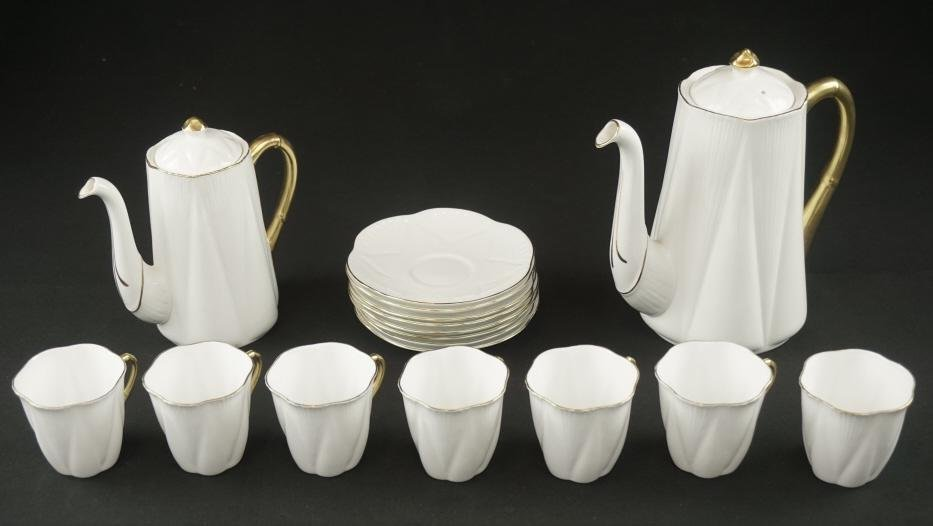 Shelley England Tea Set Stunning porcelain tea set made