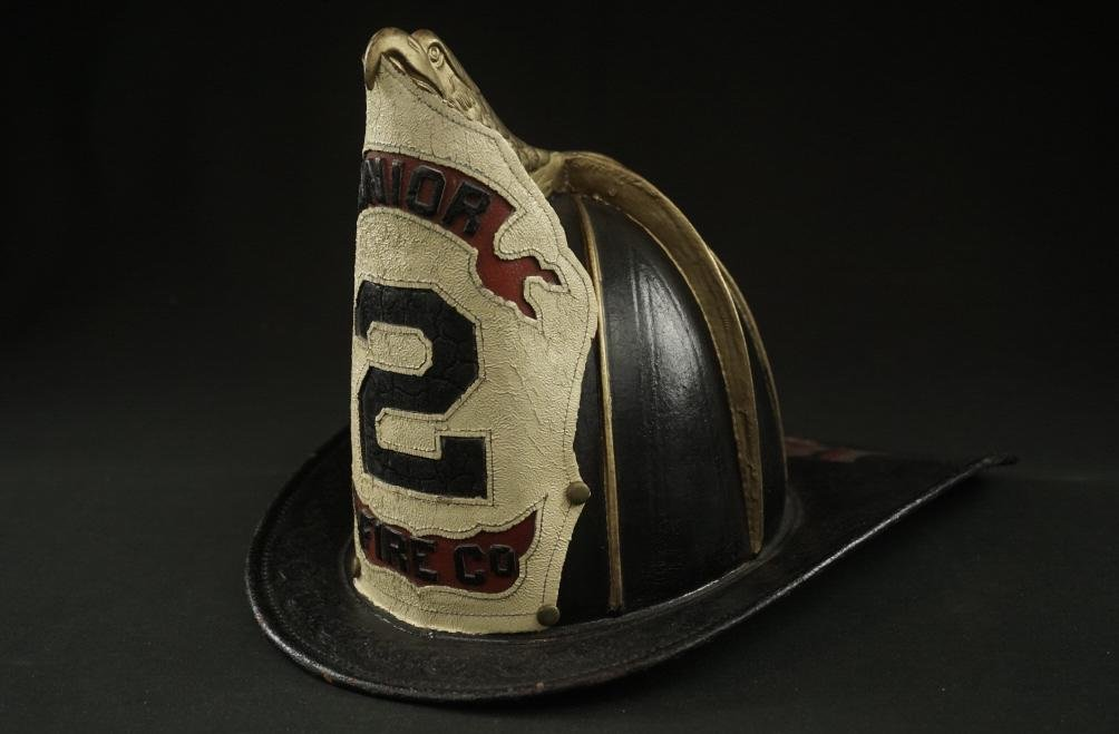 19th Century Leather Fireman