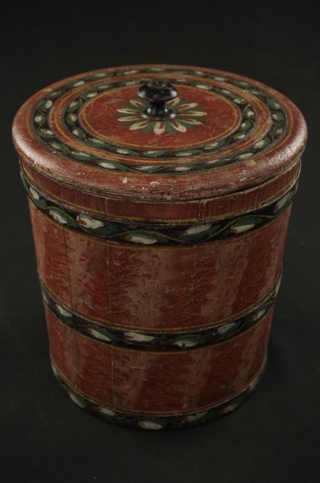 Joseph Lehn Sugar Bucket Extremely fine Lehn ware