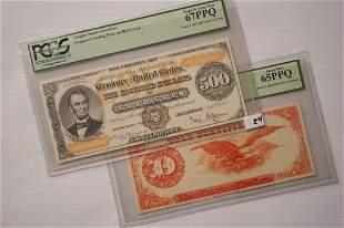 1882 500 Gold Certificate