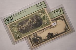 1908 100 Gold Certificate Bank Note