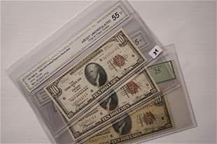 1929 10 Bank Notes