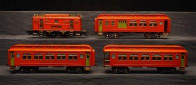 Lionel Prewar 349 E Std. Gauge Passenger Set.