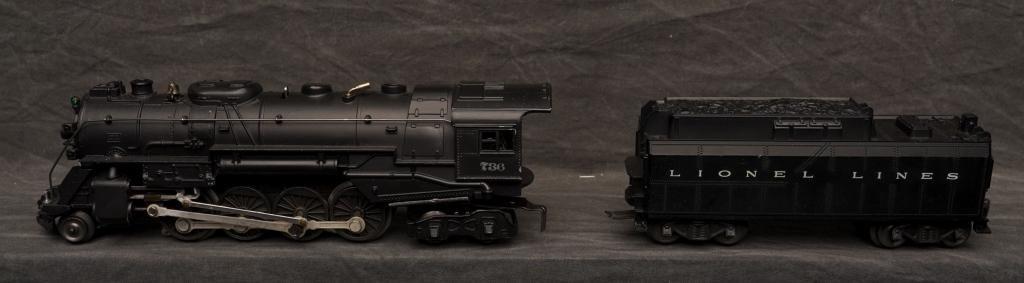 Lionel 736 Engine w/ Tender.