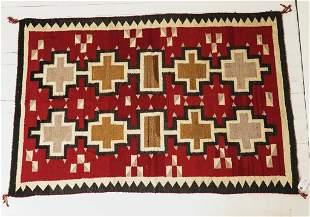 Antique Vintage Navajo Rug.