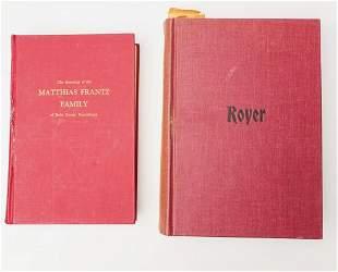 Royer Matthias France Genealogy Books