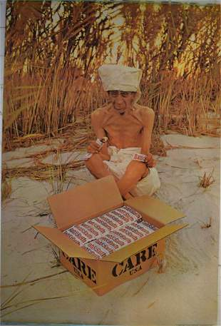 1969 Baby Ruth Care USA Poster