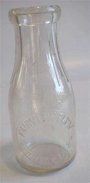 Fairview Farm Cornwall PA Milk Bottle