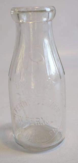 Ferndale Fernsler Lebanon PA Milk Bottle