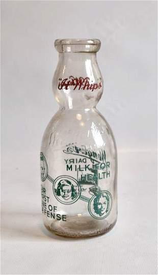 Wengerts Dairy Cream Top Milk Bottle
