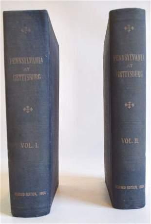 PA at Gettysburg Civil War Book