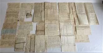 18th C Lutheran Church Schaefferstown Documents
