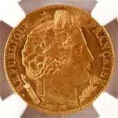 10 Francs Ceres