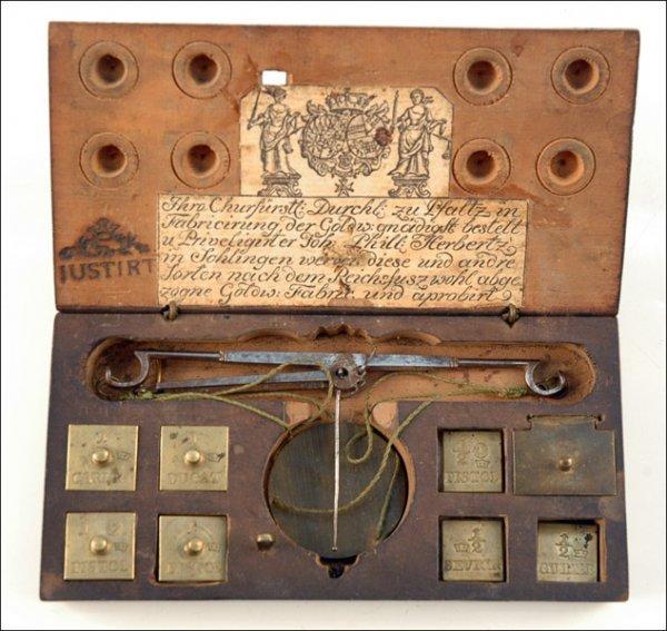 114: COIN BALANCE BY JOHAN PHILIP HERBERTZ, SOLINGEN, G