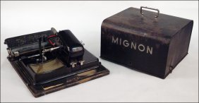 MIGNON TYPEWRITER.